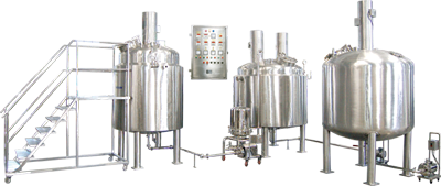 syrup manufacturing plant, liquid manufacturing plant